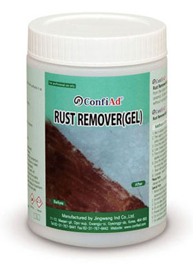 Rust Remover Gel's Characteristics & Properties and Storage, Field of Use, Packing
